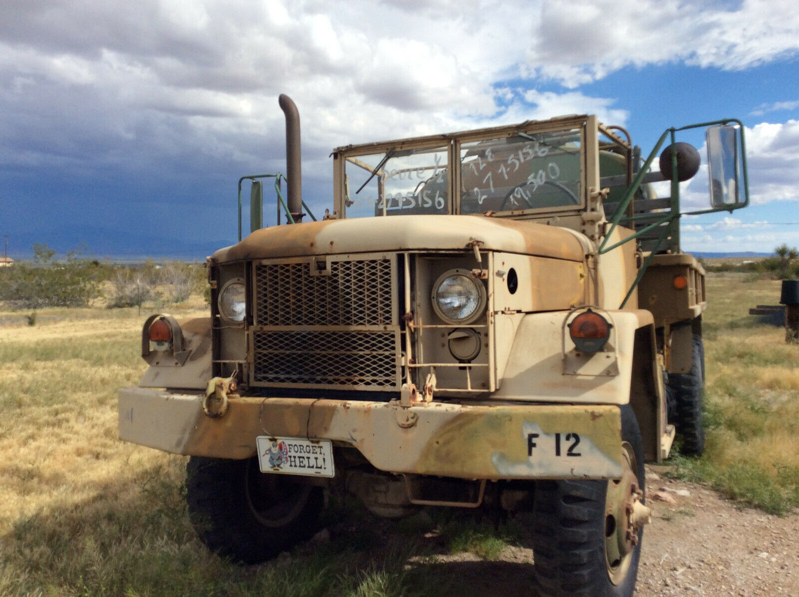 low miles 1970 AM General M35 A2 military for sale