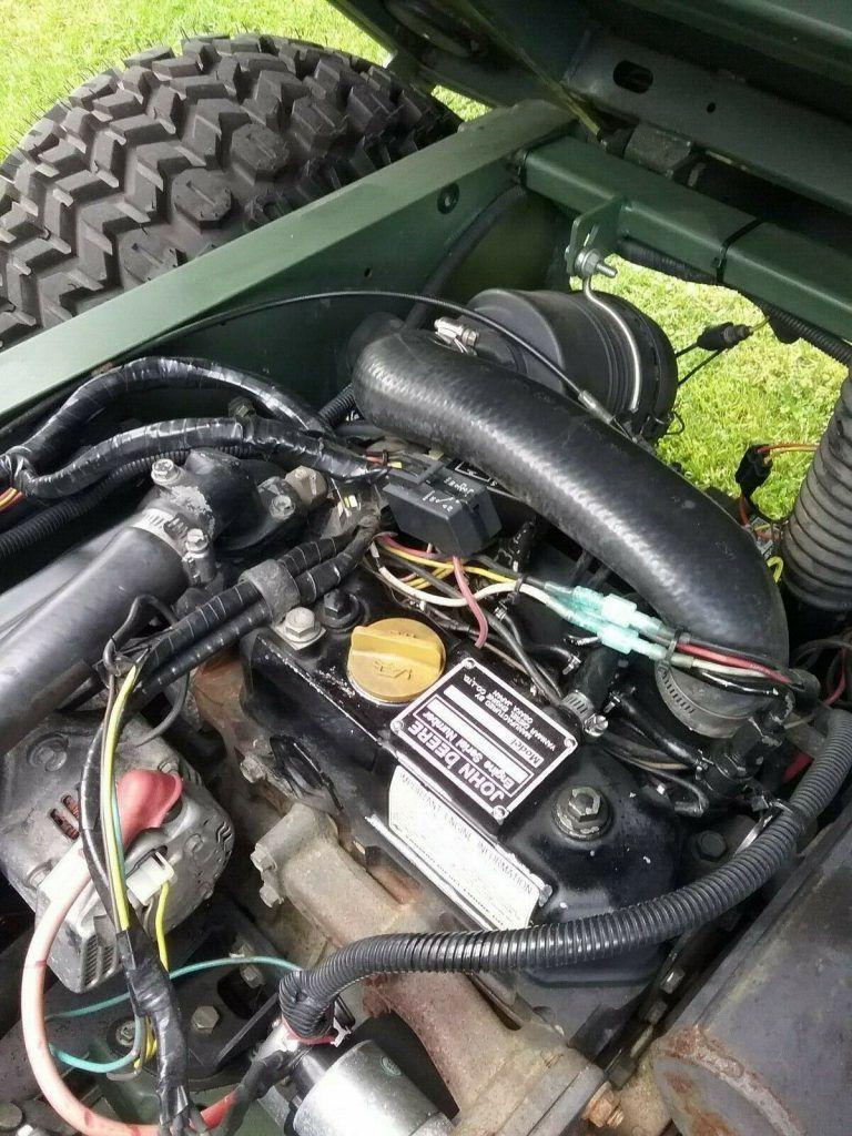 nice 2002 John Deere 6×4 Diesel M Gator A 1 Military