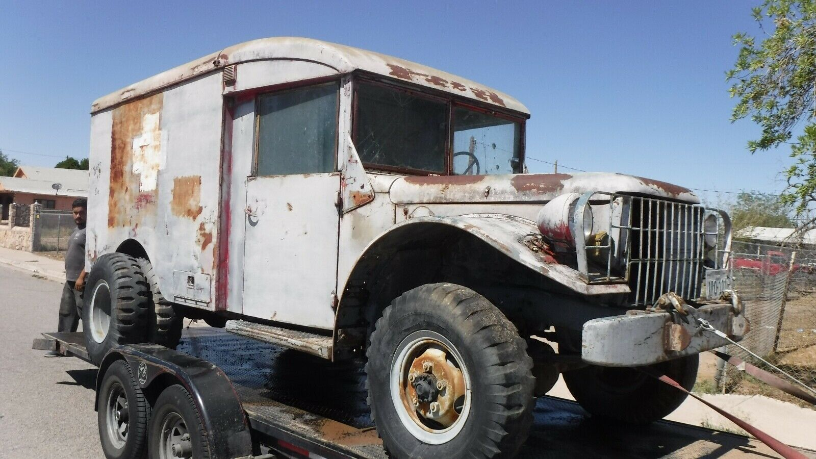 Project 1953 Dodge 4X4 Ambulance Military for sale