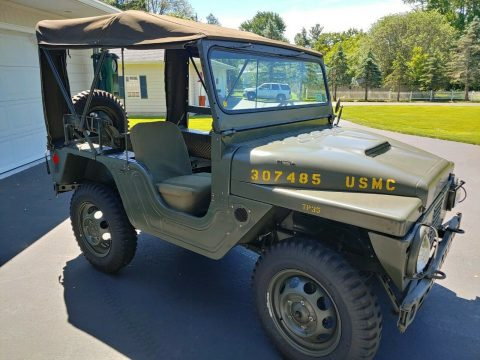 rare restored 1961 AMC Mighty Mite USMC M422 military for sale