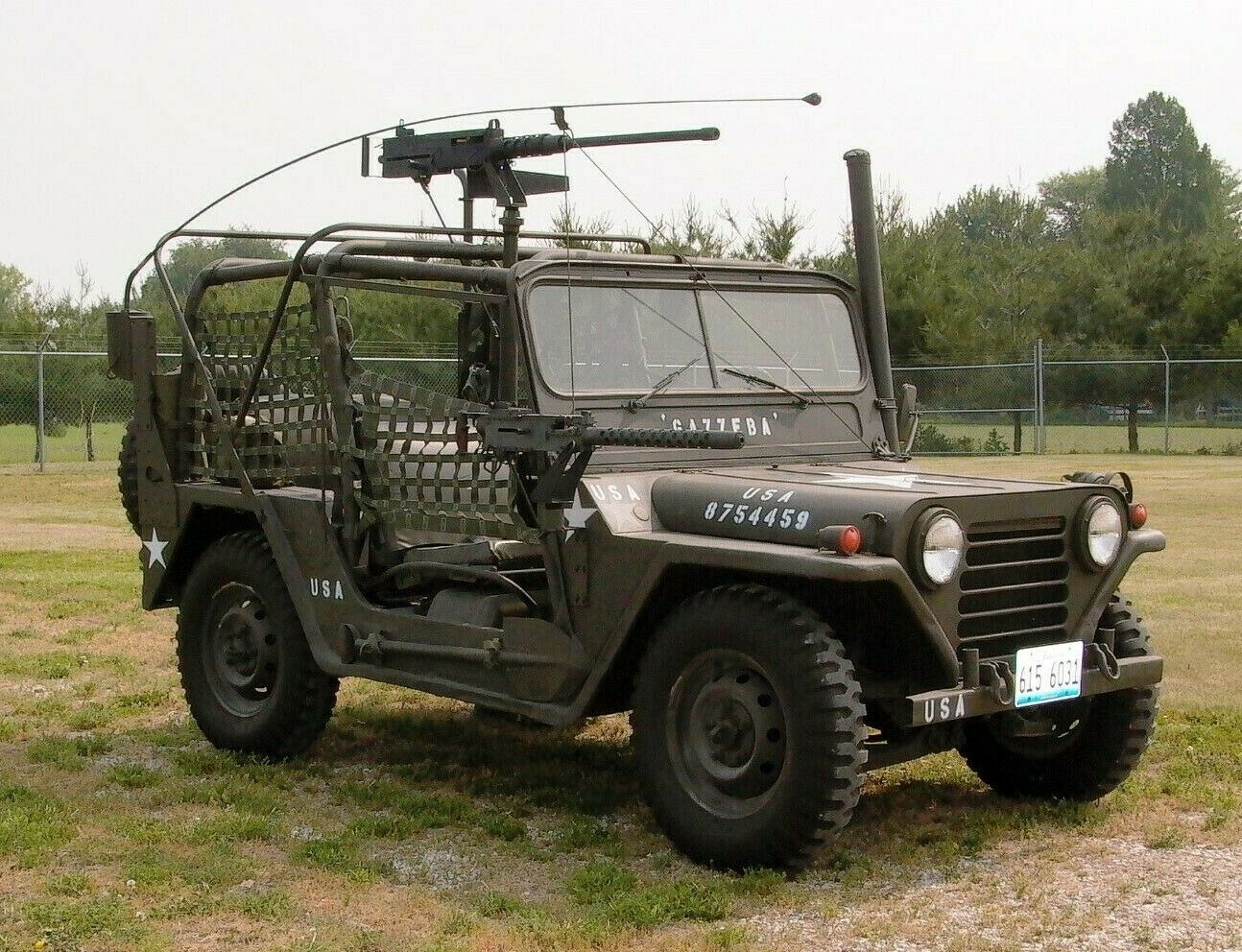 repaired and upgraded 1966 Ford M151 A1/a2 Vietnam Era Jeep military for sale