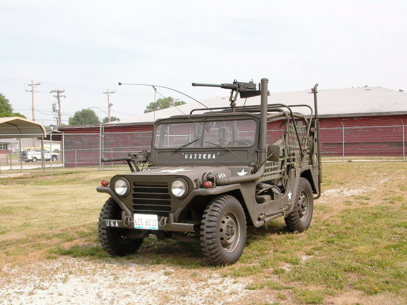 repaired and upgraded 1966 Ford M151 A1/a2 Vietnam Era Jeep military
