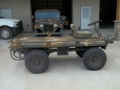 restored 1964 M274 Vietnam Era Mule military for sale