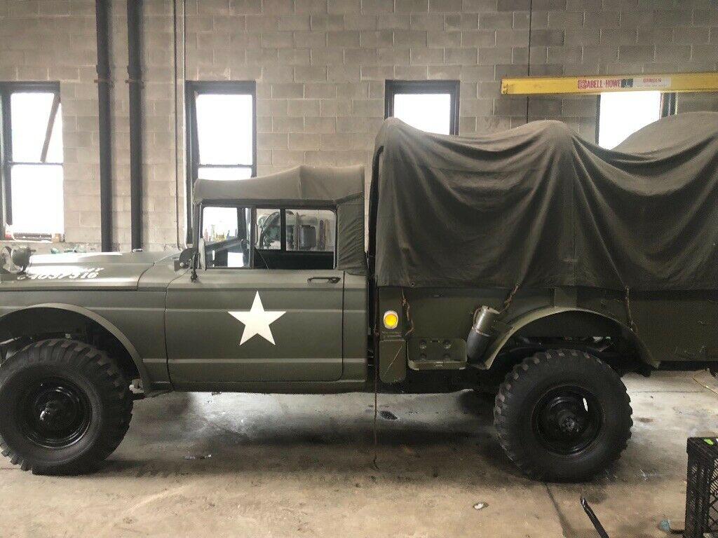 stronger engine 1968 Kaiser Jeep M716 Cargo Truck military