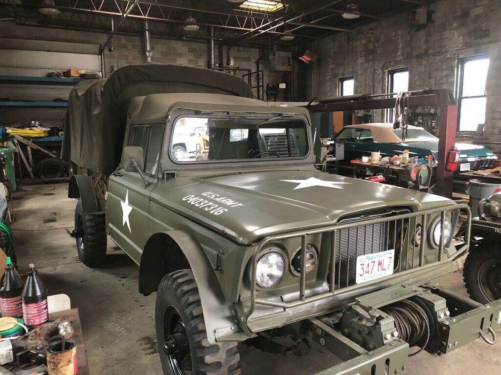 stronger engine 1968 Kaiser Jeep M716 Cargo Truck military