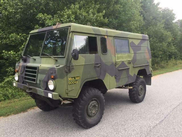 very cool 1975 Volvo Tgb111 A MT, ex. Swedish military
