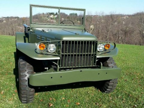 very nice 1944 Dodge WC 51 military for sale