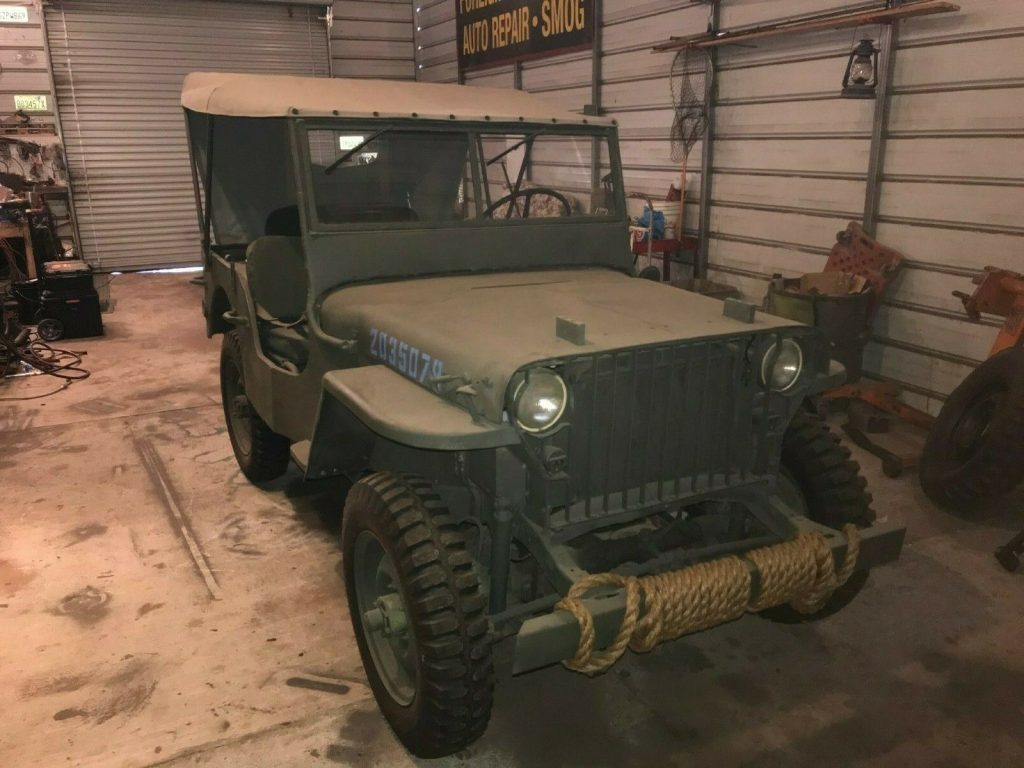 very rare 1941 Willys Slat Grille military