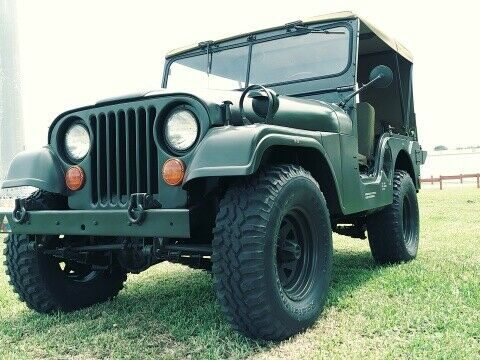 beautiful 1955 Willys Jeep M38a1 Military for sale