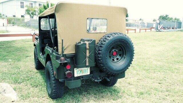 beautiful 1955 Willys Jeep M38a1 Military