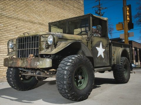 Completely redone 1955 Dodge M37 Power Wagon military for sale