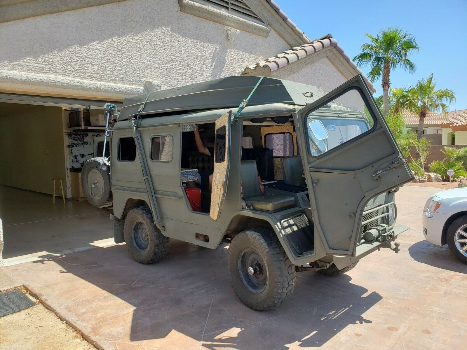 converted 1963 Volvo Laplander L3314 4×4 Military for sale