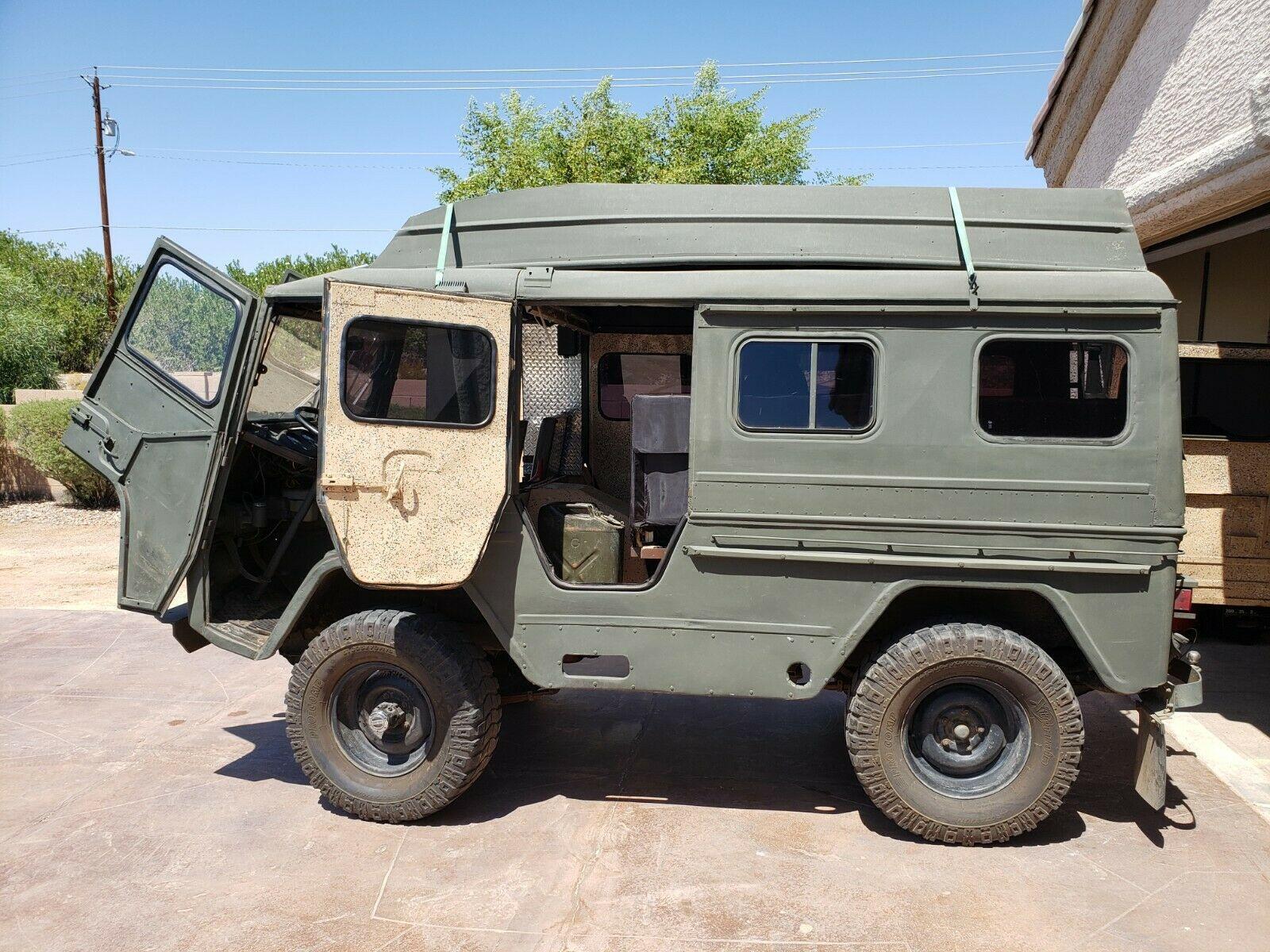 converted 1963 Volvo Laplander L3314 4×4 Military