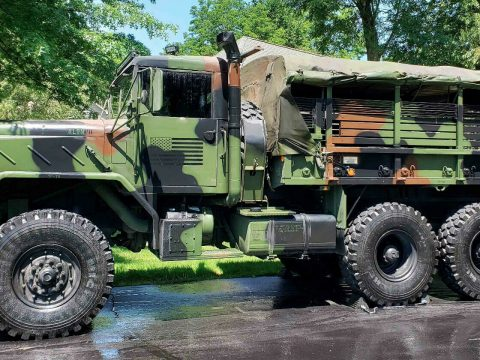 great shape 1986 AM General M923 M923 6X6 military for sale