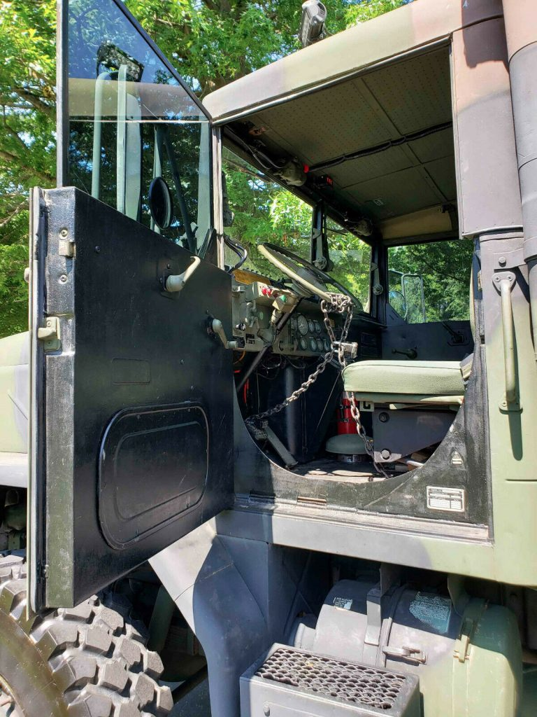 great shape 1986 AM General M923 M923 6X6 military