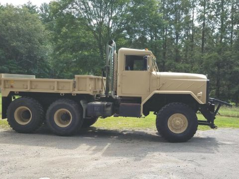 many upgrades 1990 BMY 931a2 6X6 PLOW TRUCK Military for sale