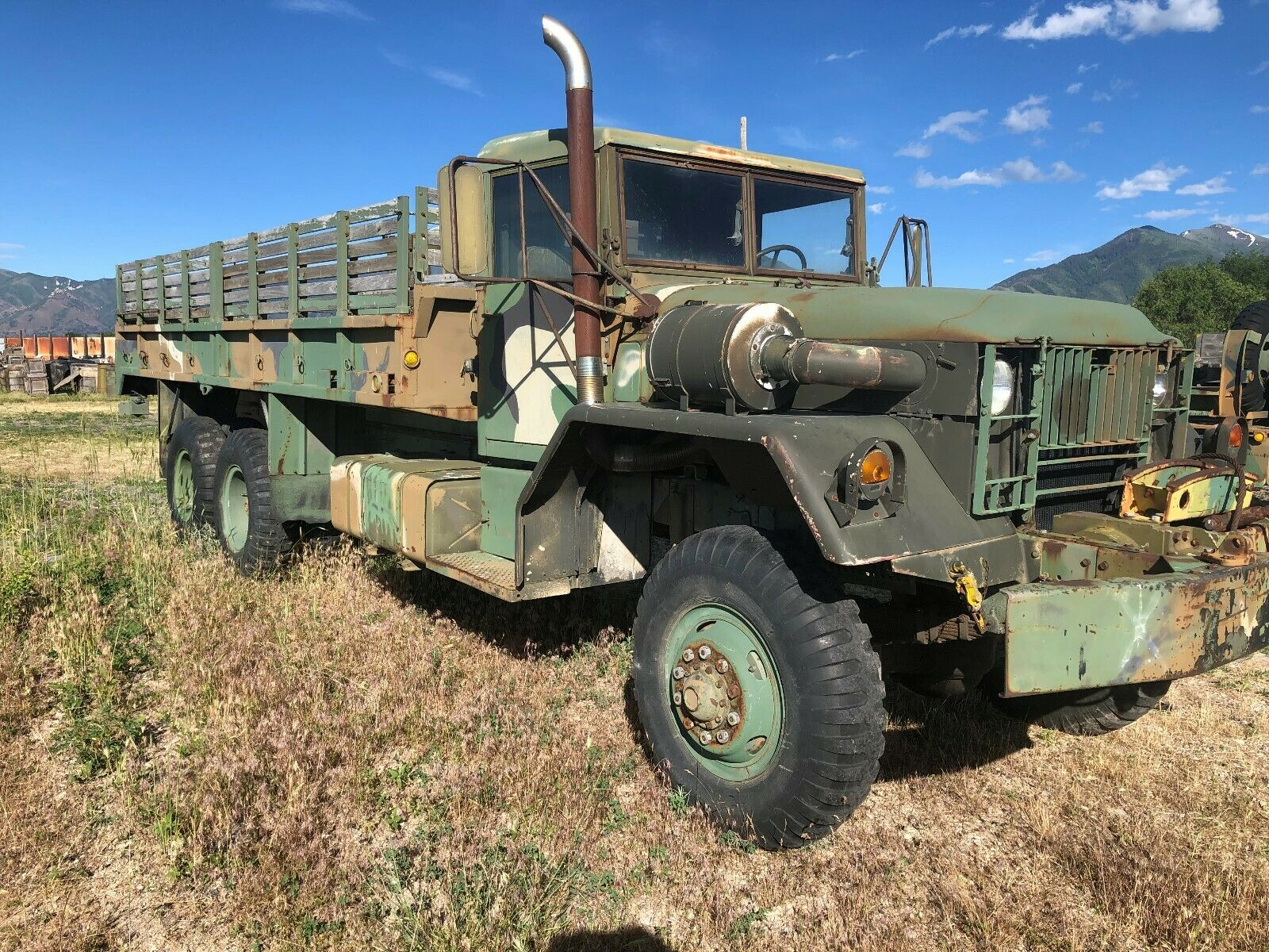 needs work 1960 Kaiser M 40 C Military Truck for sale