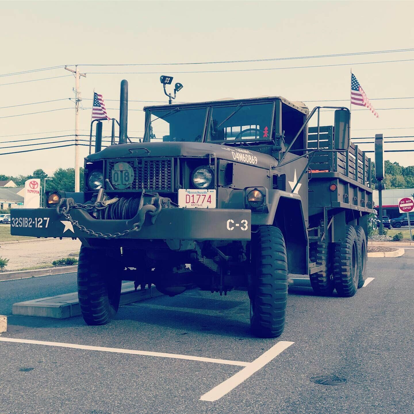 "nice 1968 Kaiser Jeep 2 1/2 Ton M35a2 ""deuce and a Half"" military"
