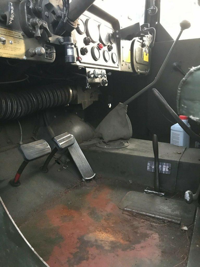 "nice 1968 Kaiser Jeep 2 1/2 Ton M35a2 ""deuce and a Half"" military"