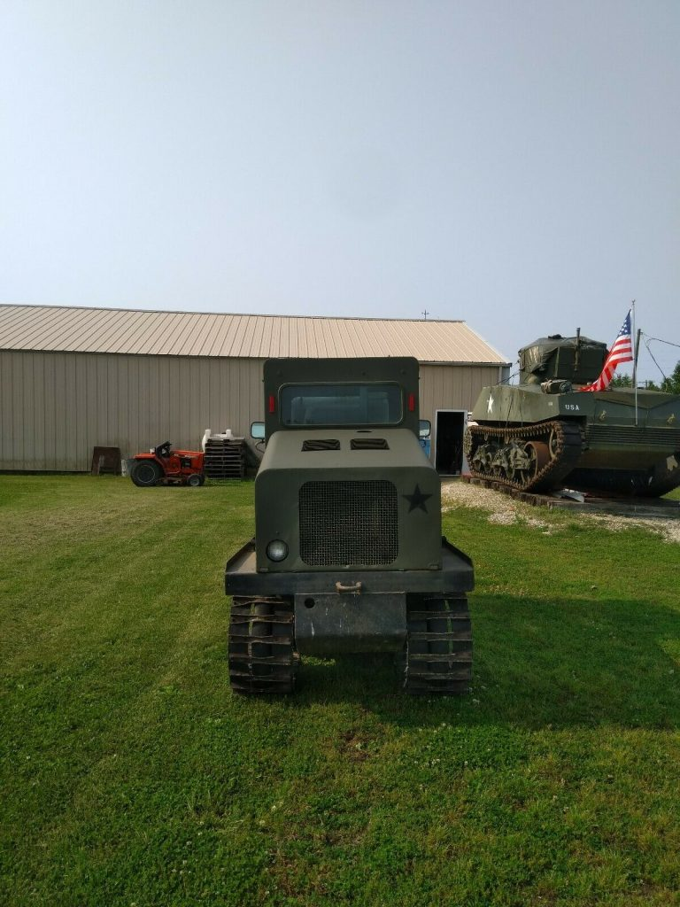 powerful 1985 Bombardier Industrial Tracked Plow SW48FA military