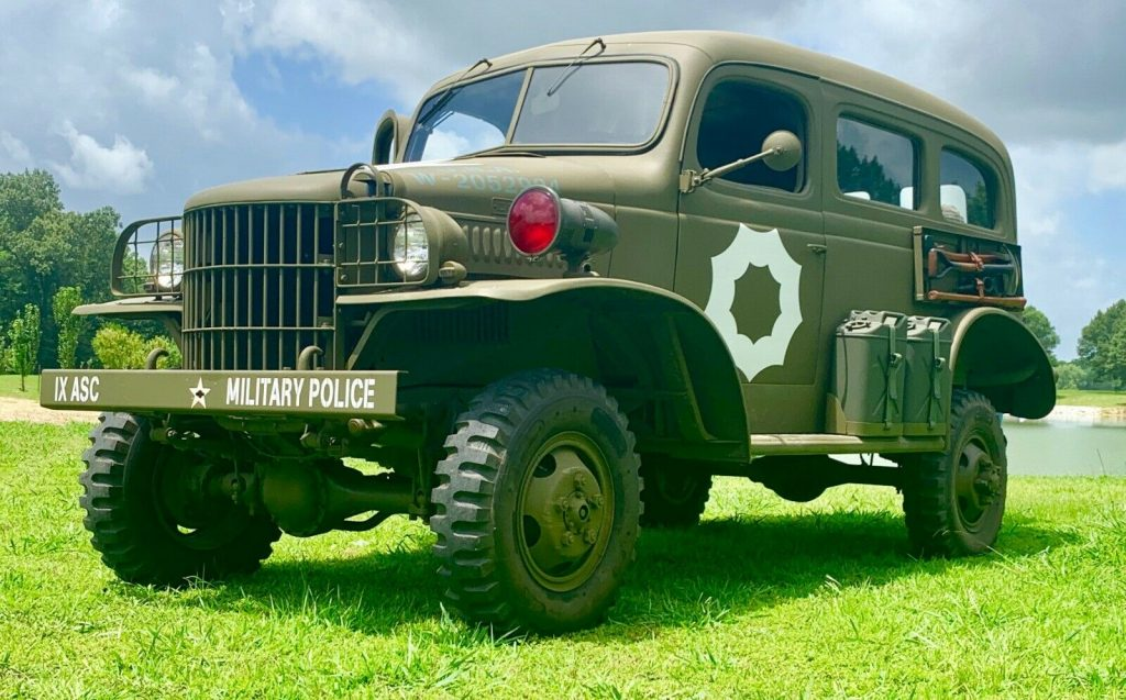 restored 1941 Dodge WC 26 Carry all military