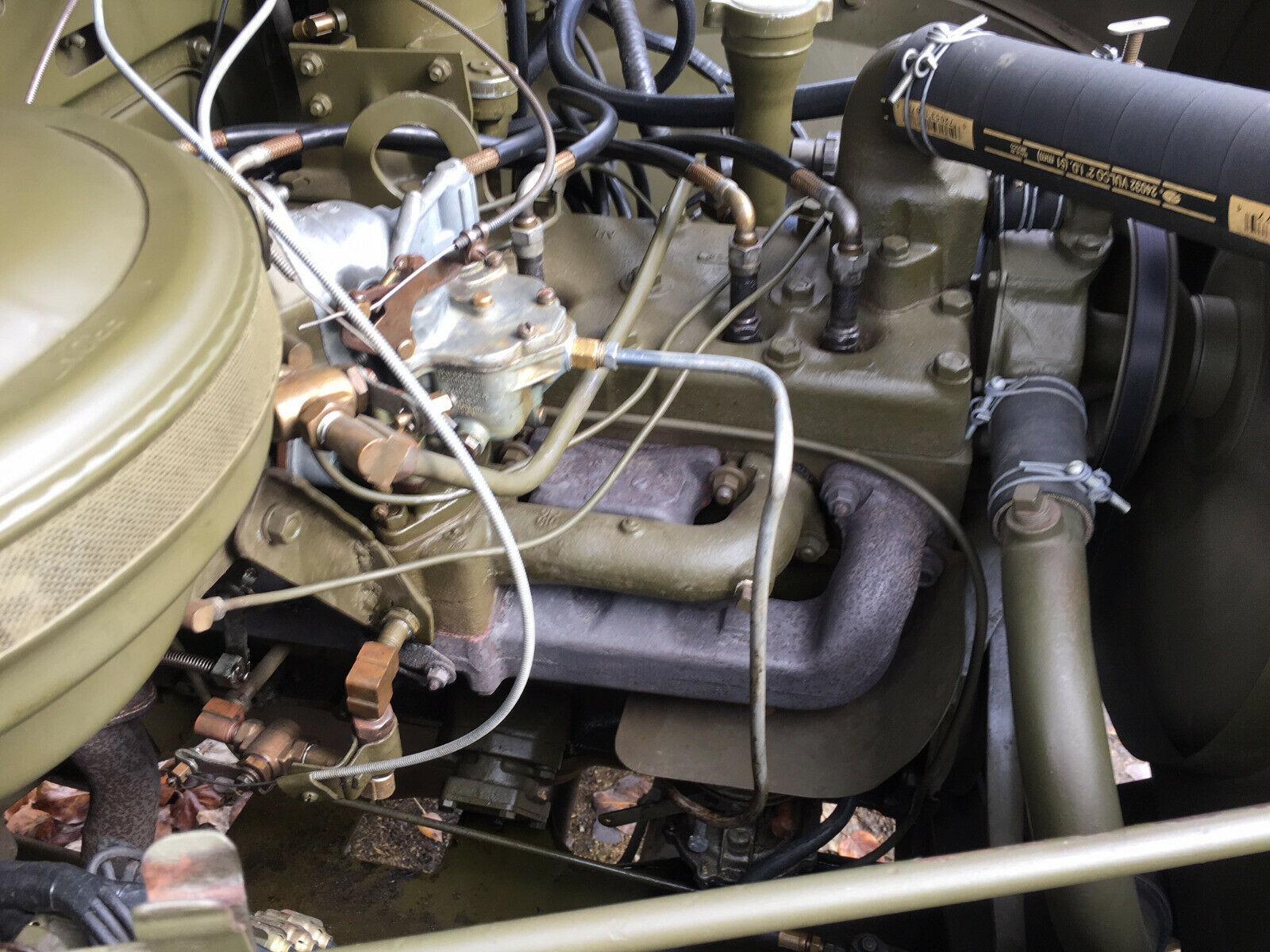 restored 1953 Dodge M 37 Truck Military