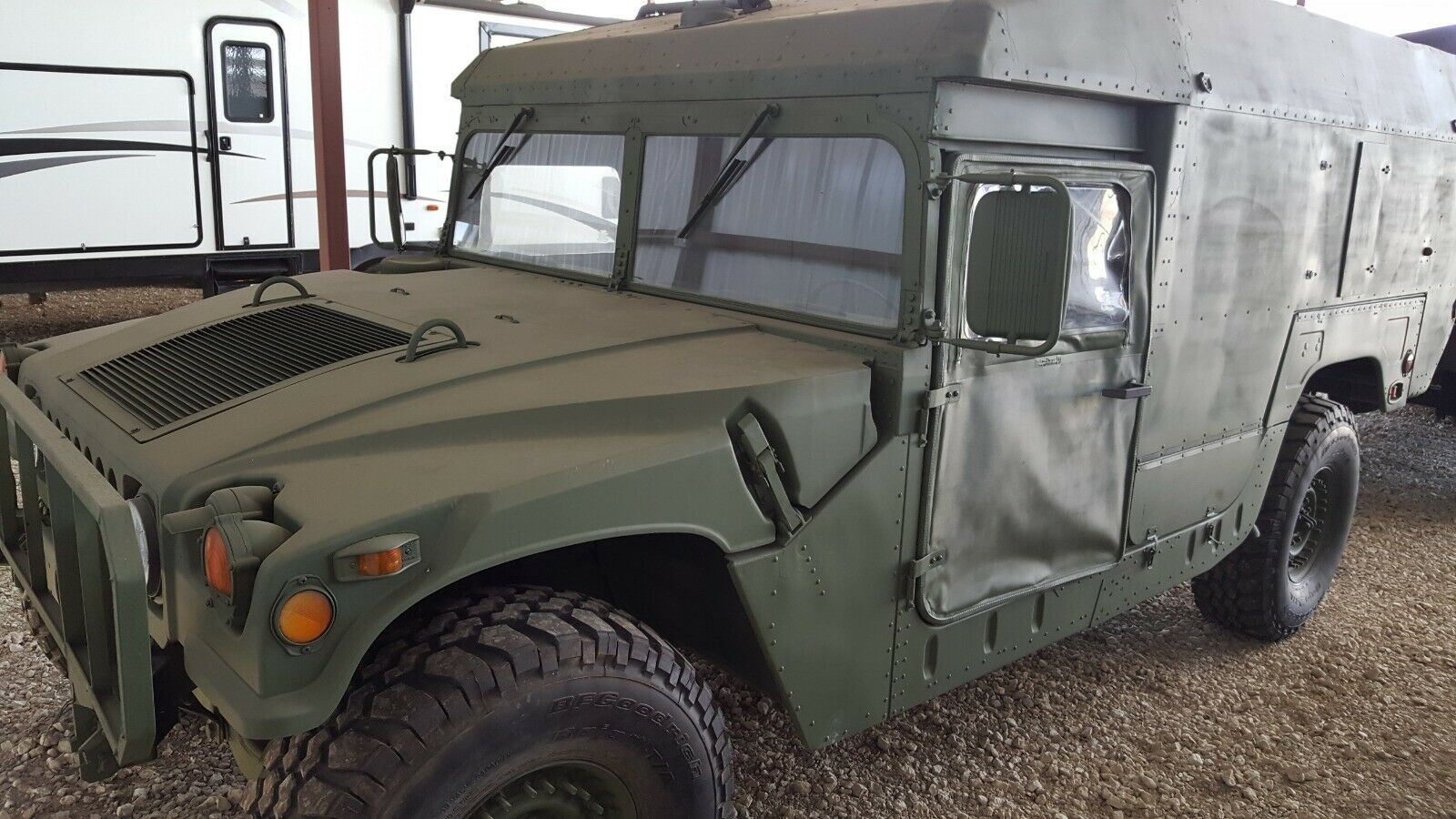 restored 1989 AM General Hummer military for sale