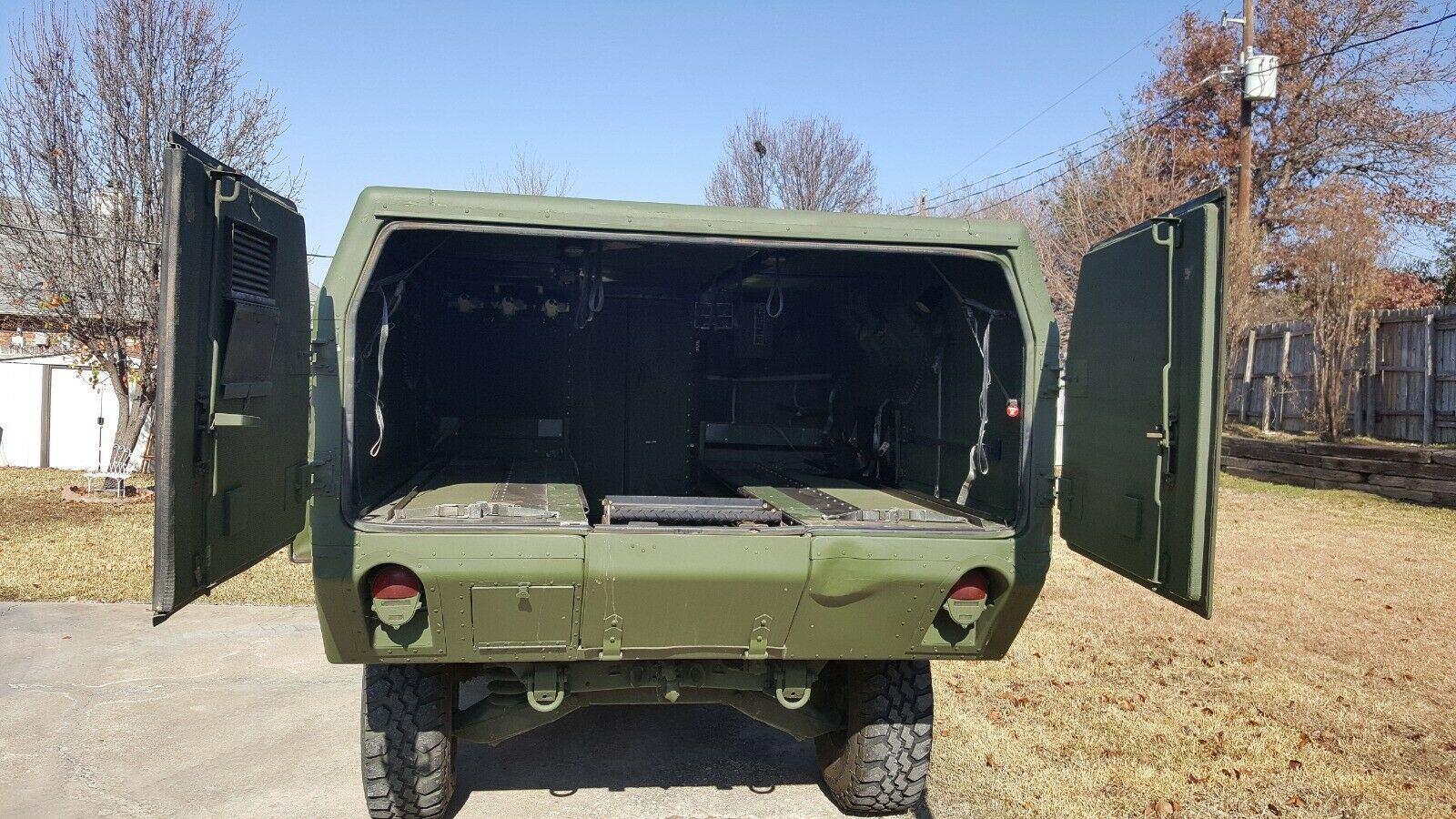 restored 1989 AM General Hummer military