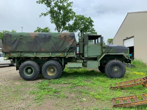 solid 1991 BMY M923a2 Cargo Troop Deuce and Half Military for sale