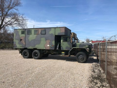 versatile 1978 AM General M820 A2 5 Ton Expansion Van military for sale