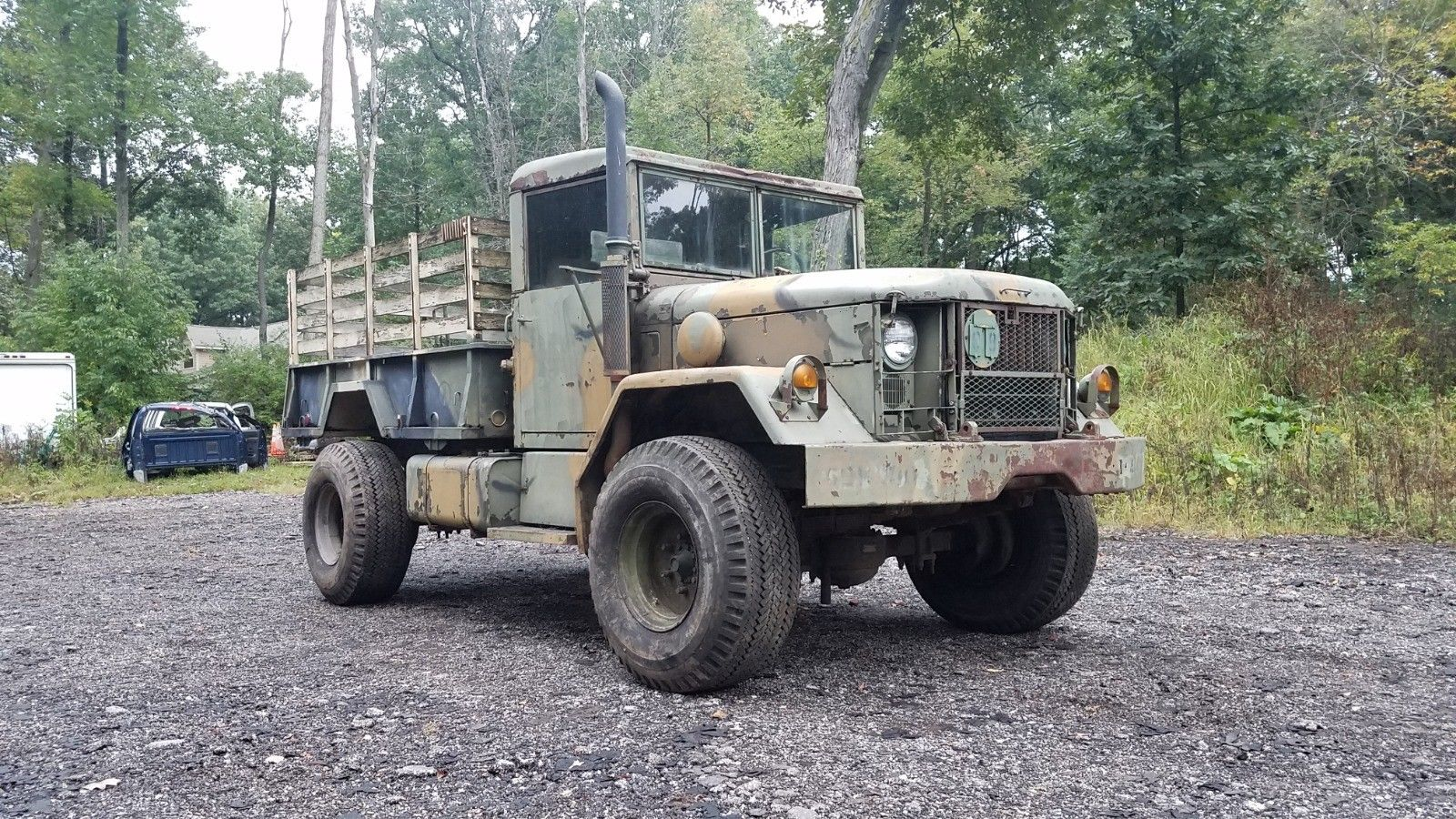 Bobbed 1976 Kaiser Deuce and a Half Military for sale