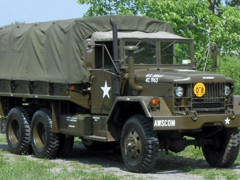 clean 1971 AM General M35a2, Deuce and a Half military for sale