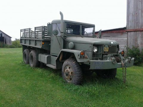 good running 1967 Kaiser Truck deuce 1/2 military for sale