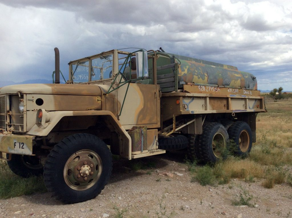 low miles 1970 AM General M35 A2 military