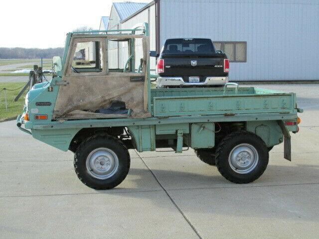 original 1973 Steyr Puch Haflinger 700AP military