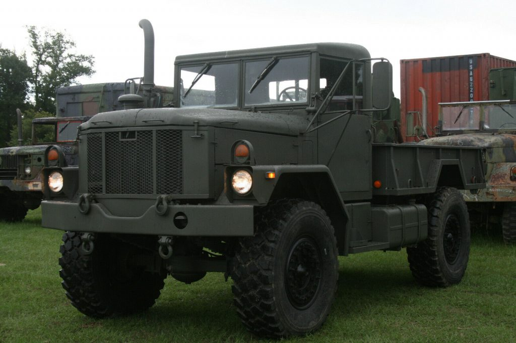 bobbed 1978 AM General Deuce AND A HALF Military