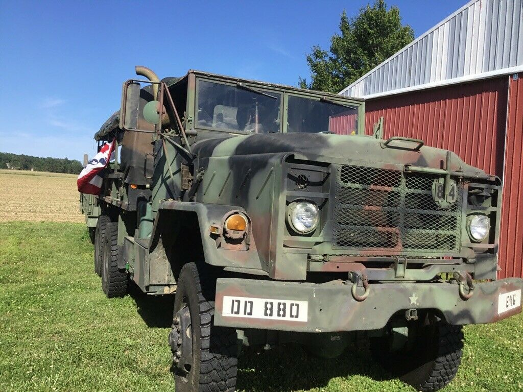 garaged 1984 AM General 5 ton Troop Truck military for sale