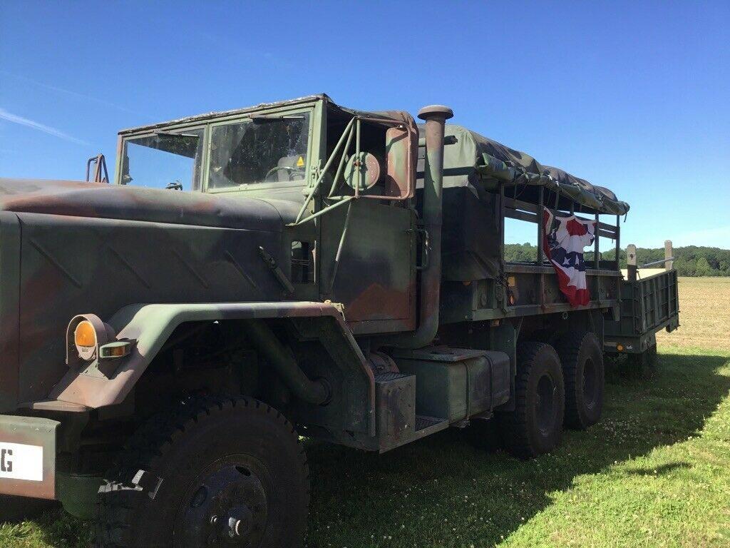 garaged 1984 AM General 5 ton Troop Truck military