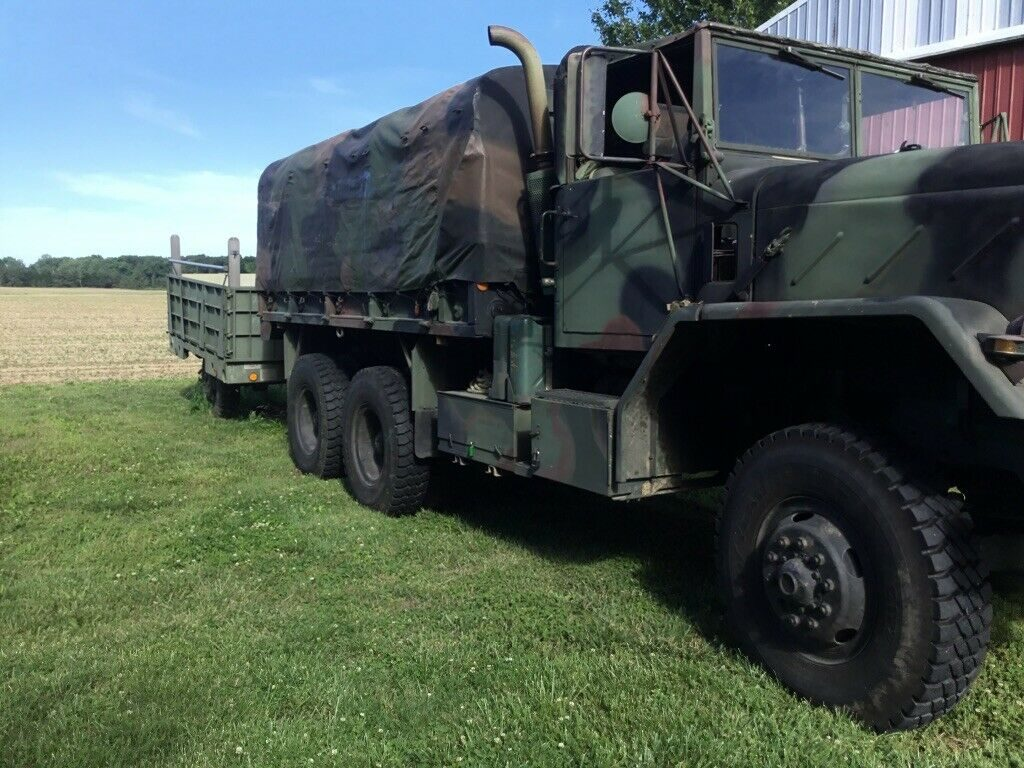 garaged 1984 AM General 5 ton Troop Truck military
