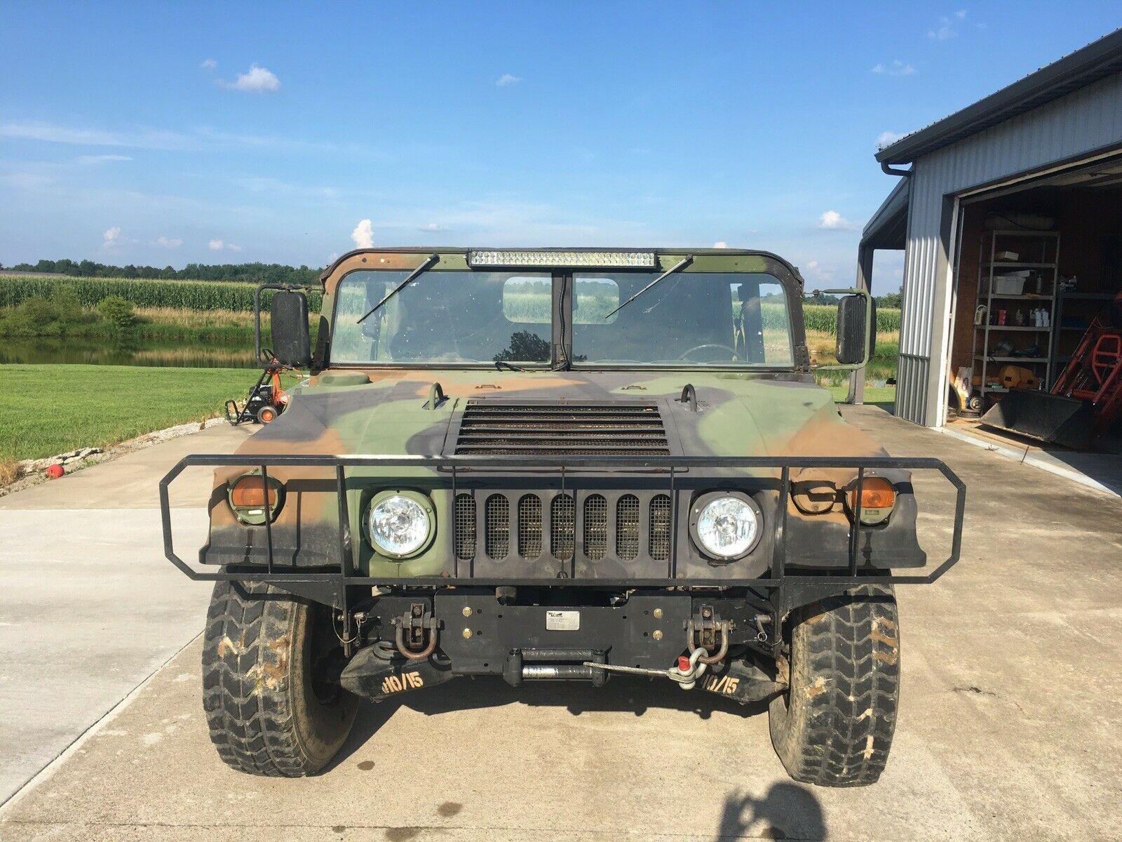 low miles 1994 AM General Humvee M998 military for sale