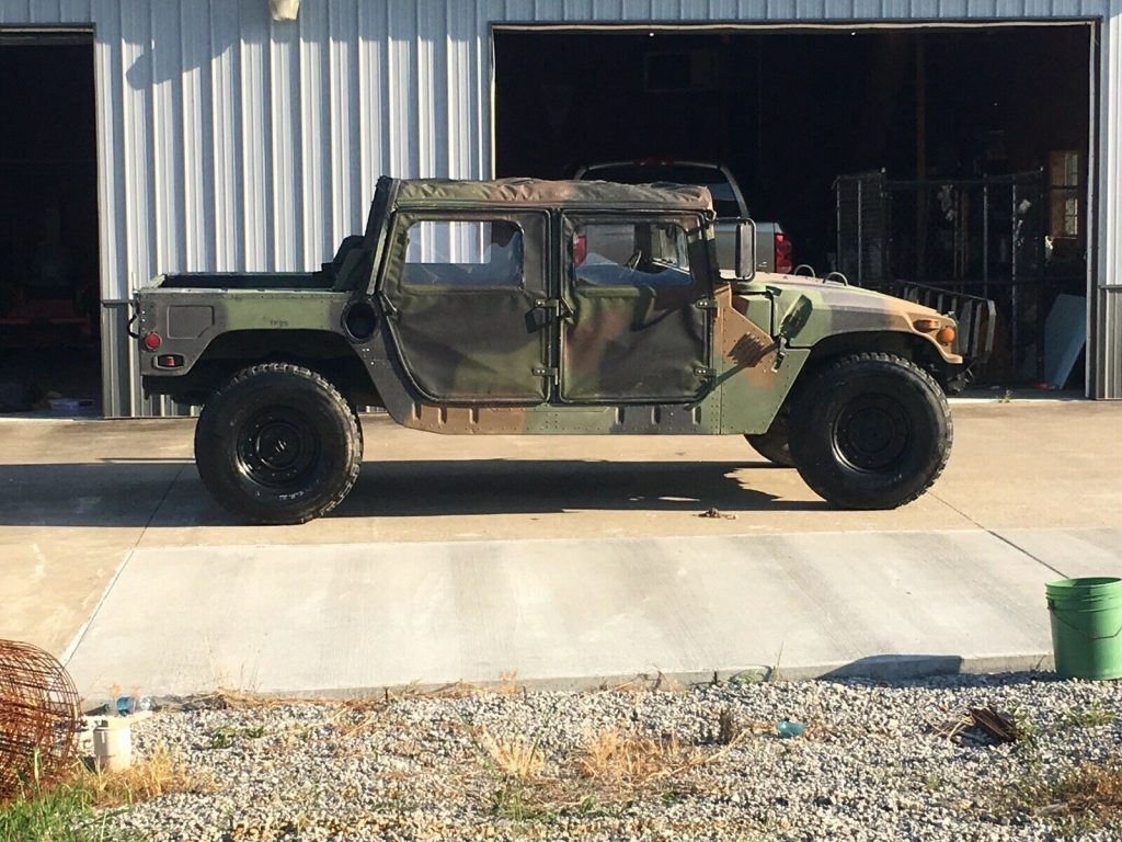 low miles 1994 AM General Humvee M998 military