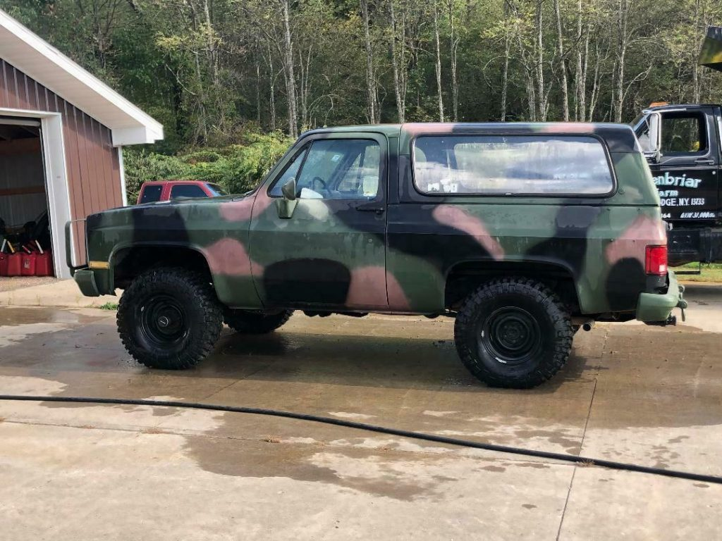 many new parts 1984 Chevrolet Blazer 4×4 Military