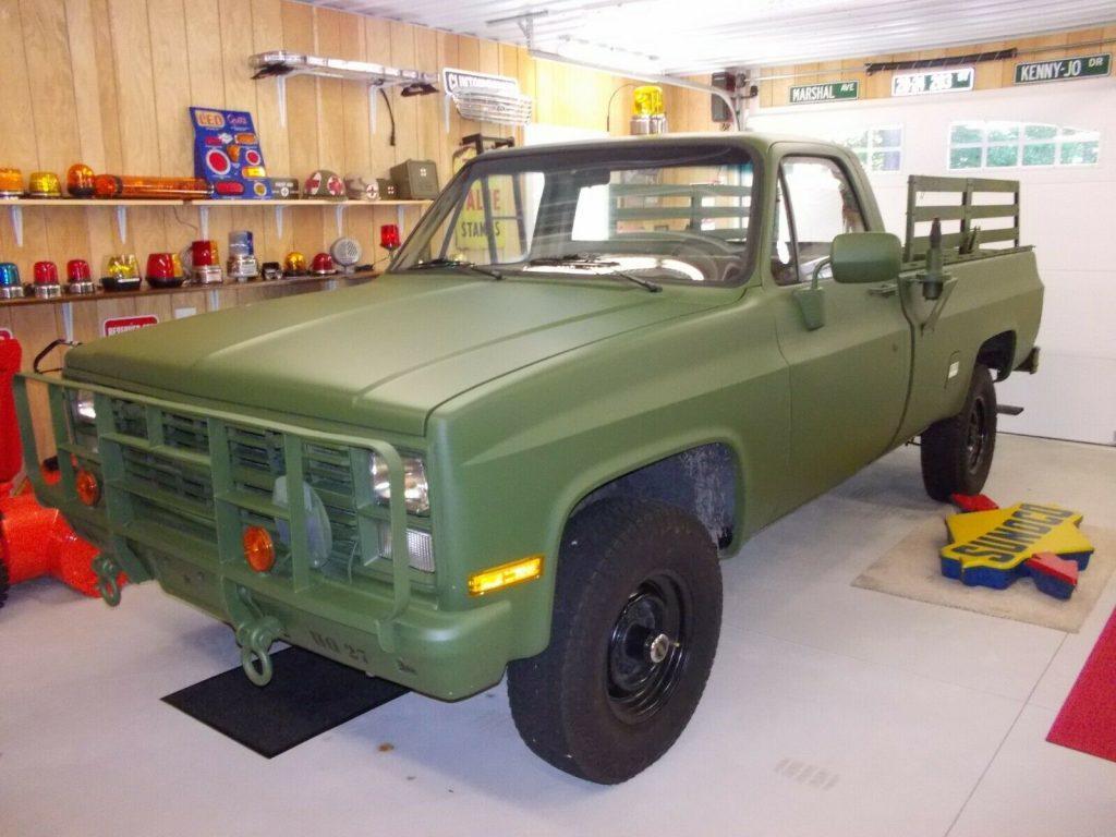 new parts 1986 Chevrolet M1008 CUCV 6.2 military