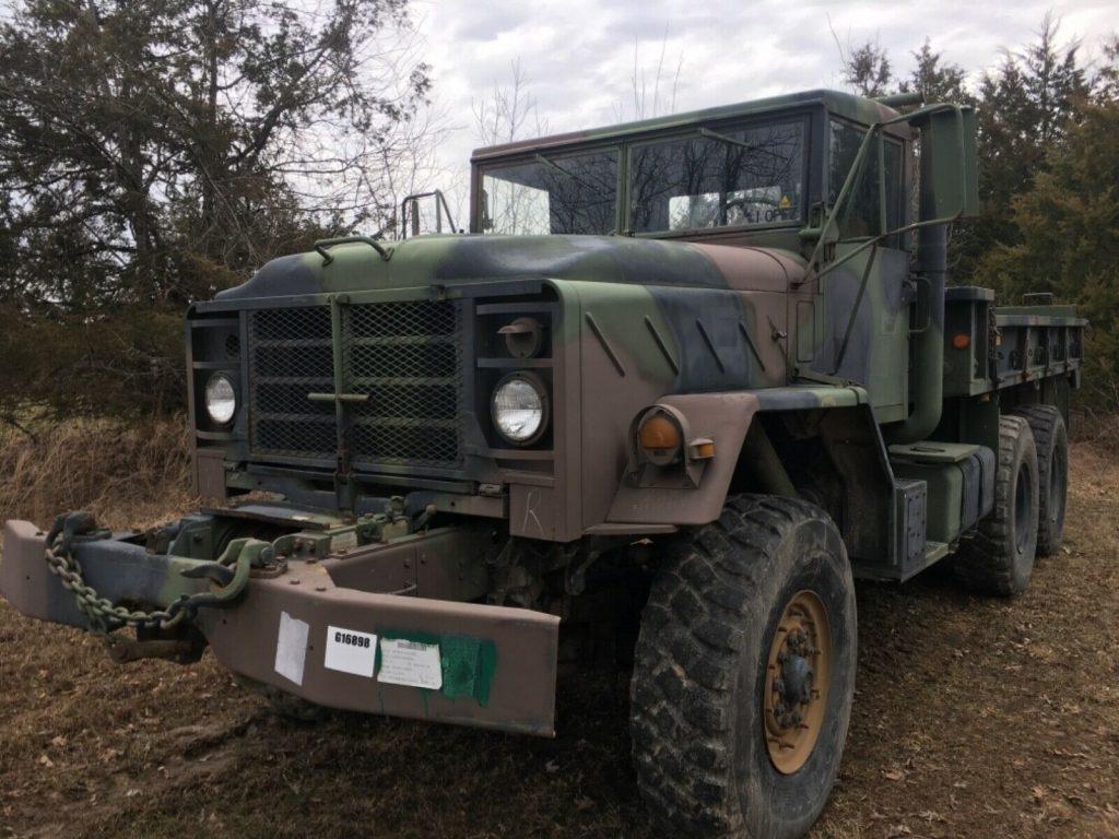 nice running 1992 AM General 5 ton military