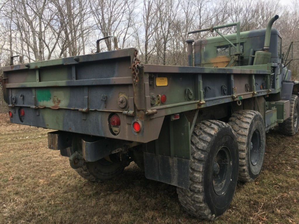 nice running 1992 AM General 5 ton military