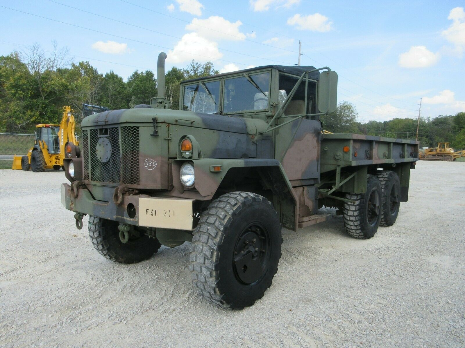 solid 1993 AM General M35a3 Military