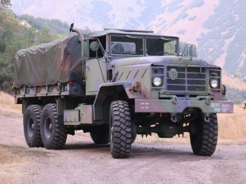 strong 1990 BMY M923a2 5 Ton Truck Military for sale