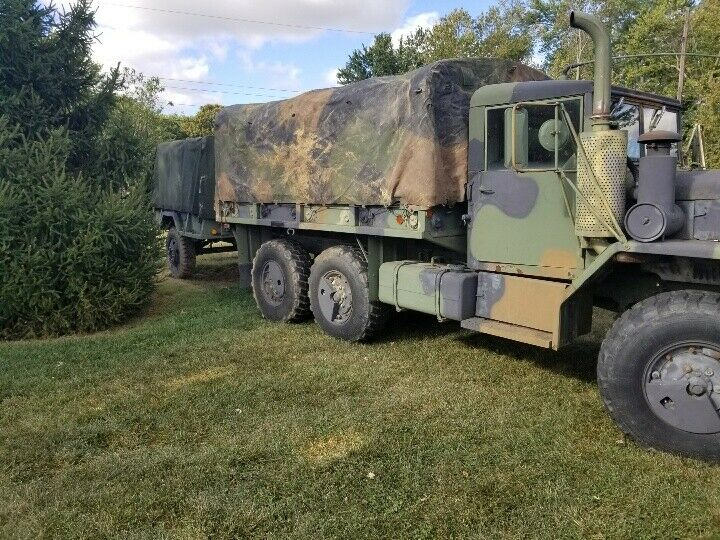 strong running 1993 AM General M35a2 military