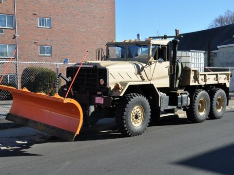 upgraded 1990 BMY 931a2 6X6 plow truck Military for sale
