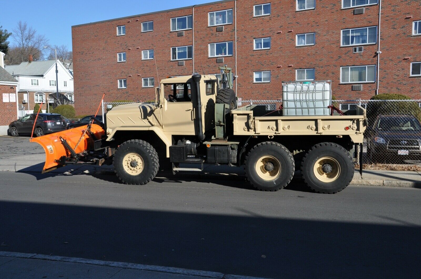 upgraded 1990 BMY 931a2 6X6 plow truck Military